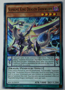 YuGiOh-SUPREME-KING-DRAGON-DARKWURM-MACR-EN019-MINT-COMMON-1st-EDITION-CARD