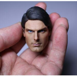 """Custom 1//6 SCALA DC Superman Clark Kent Maschio Testa Scultura Figura Corpo per 12/"""""""
