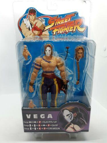 2005 SOTA Street Fighter Round 2 VEGA violet tenue action figure A32