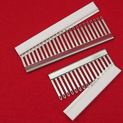 +++ Sockenset 4.5mm - 2x Deckerkamm 16+24er mit Kappe für Strickmaschinen