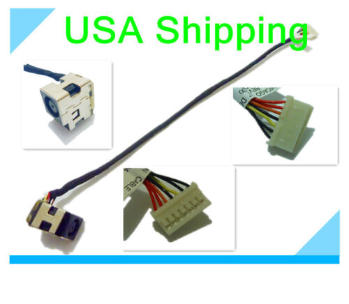 DC Power Jack in cable harness for HP PAVILION 2000-299WM 2000-300CA 2000-314NR