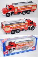 Siku 2109 00600 Mercedes Zetros 2733 (6x6) Feuerwehr, FIRE & RESCUE 1:50 OVP Neu