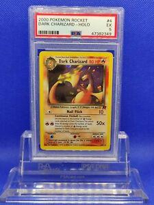 Dark-Charizard-Holo-PSA-5-EX-2000-Team-Rocket-4-Pokemon