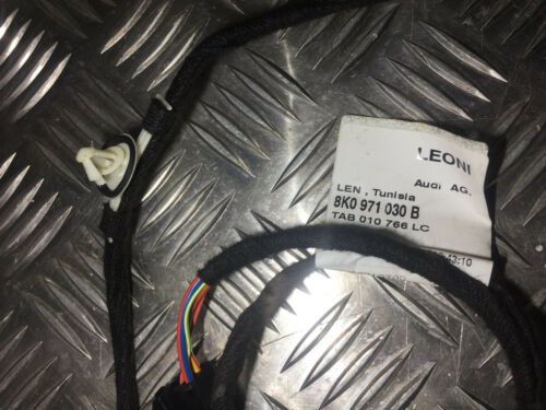 Audi A4 B8  2.0 TDI S-Line 08-12 Passenger Side Front Door Wiring Loom 8K0971030