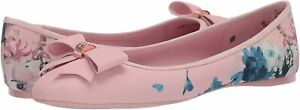 Ted-Baker-Women-039-s-IMMEP-Ballet-Flat-Pink-Size-11-0-WlUs