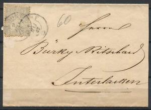 Schweiz-1867-Gestempelt-100-Sitzende-HELVETIA
