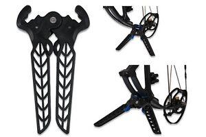 Avalon-Archery-Dual-Pod-Compound-Bow-Kick-Stand-With-Limb-Protection-Black