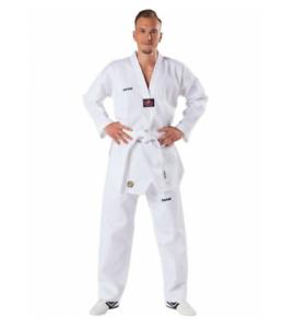 NEU KWON ® Taekwondo Anzug weiß 120-150 Kampfsport Anzug Taekwondoanzug