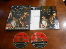 Resident Evil Zero Nintendo GameCube Video Game Complete