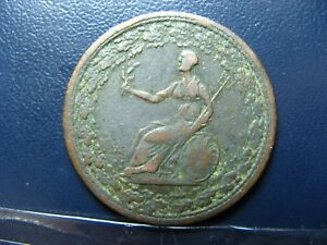 LC-54D1-Halfpenny-token-1815-Lower-Bas-Canada-Spread-Eagle-Breton-994