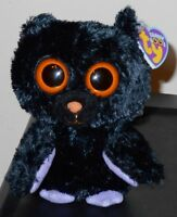 Ty Beanie Boos Swoops The 6 Bat (original Solid Eyes 2011 Version) Mwmt's