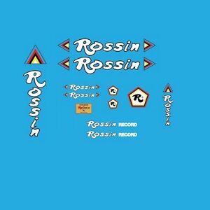 ROSSIN-Stickers autocollants Transferts Bicyclette-Set 2