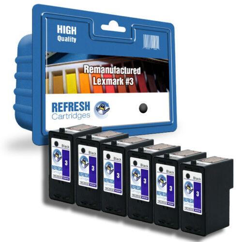 Refresh Cartucce #3 #2 Nero e Colore XL Inchiostro Compatibile con Lexmark