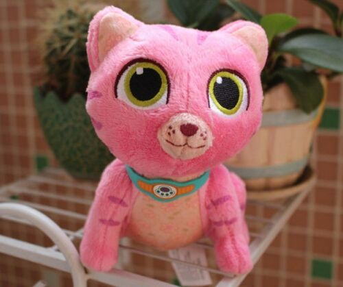 "New Disney Jr Doc McStuffins* WHISPERS Kitten Cat Pink 7/"" PET VET PLUSH Doll Toy"