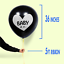 Baby-Shower-Gender-Reveal-Confettis-Ballon-Kit-Fille-ou-Garcon-Fete-Decoration miniature 4