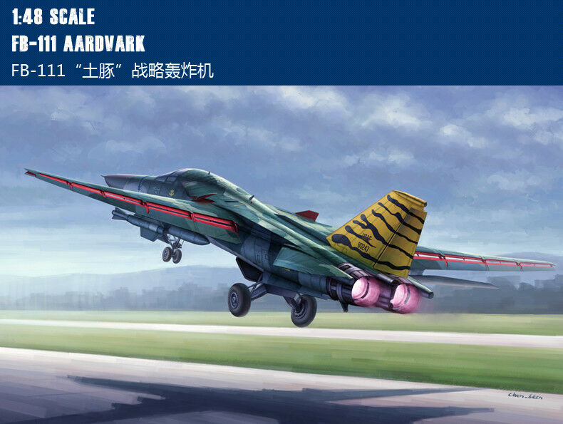 FB-111 AARDVARK 1 48 aircraft Trumpeter model plane kit 80351