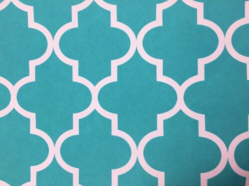 Moroccan Print Outdoor 100/% Waterproof Upholstery Drapery Canvas Fabric BTY