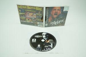PlayStation 1 * WCW Mayhem * ps1 OVP instrucciones NTSC-u/C