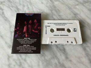 Eagles-Desperado-CASSETTE-Tape-1973-Asylum-CS-5068-Joe-Walsh-Don-Henley-RARE