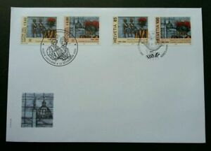 [SJ] Vatican Switzerland Joint Issue 500th Anniv Swiss 2005 (joint FDC *see scan