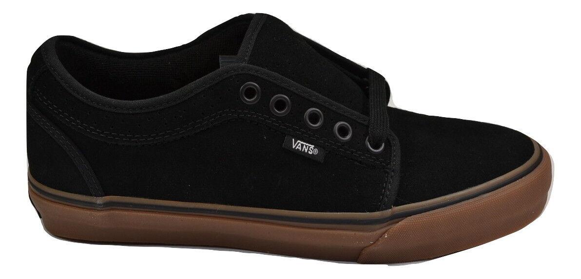 Vans CHUKKA LOW Chris Pfanner Black Gum Discounted (213) Men's shoes