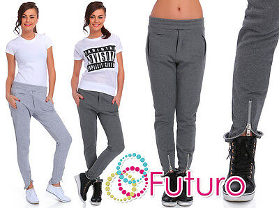 Casual Joggers Wth Pockets Sportswear Street Trousers Pants Sizes 8-14 FT1853
