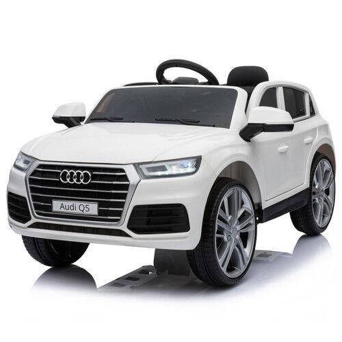 Der neue Audi Q5 quattro Kinderauto Kinderfahrzeug Kinder Elektroauto 12V Weiss