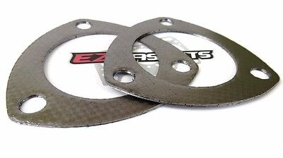 """2 1/2""""  Header Collector Flange Gasket 2 Pack Collector Gaskets Made in the USA"""