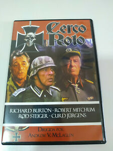 Cerco-Roto-Richard-Burton-Robert-Mitchum-Region-All-DVD-Espanol-Ingles