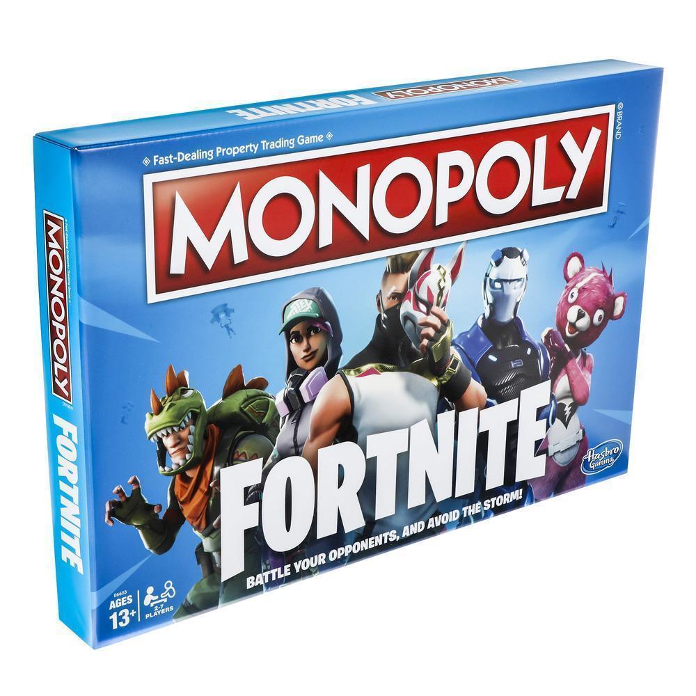 Il gioco monopol fortnite italiana hasbro monopoli italia da la