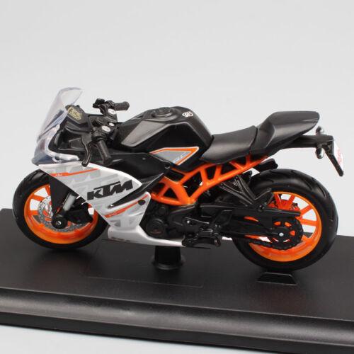 Miniature KTM RC390 Motorcycle Diecast Metal Model Sport Bike Racing Toy Kids