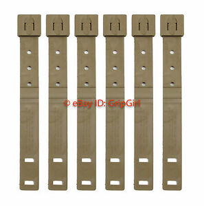 6x-Lot-Tactical-Tailor-Short-Coyote-MALICE-Clips-6-Pack-USMC-Marine-FDE-NEW