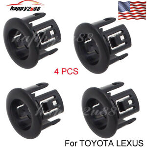 Details about Set(4) NEW PDC Parking Sensor Retainer For Toyota Lexus ES350  HS250h 89348-33010