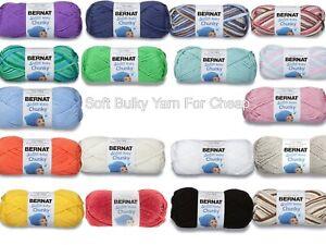 Bernat-Softee-Baby-Chunky-Yarn-Gauge-5-High-Quality-Knitting-Crochetting-Yarn