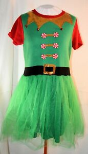 33-degrees-GREEN-ELF-dress-with-tutu-LARGE