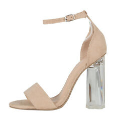 7ad2021fb4a item 3 Women Transparent Clear Lucite Chunky High Heel Ankle Strap Open Toe  Pump Sandal -Women Transparent Clear Lucite Chunky High Heel Ankle Strap  Open ...