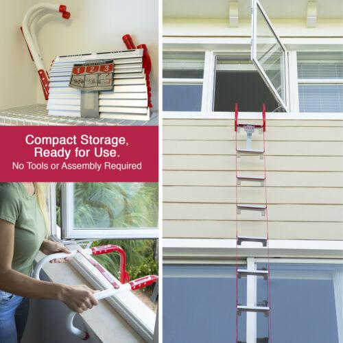 Kidde 13/' 25/' Emergency Escape Ladder