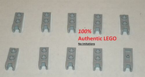6043639 Brick 14418 LEGO NEW 1x2 Light Bluish Grey Plate End Ball Socket 10x