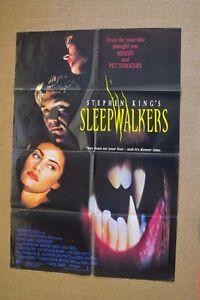 1992-Sleepwalkers-ORIGINAL-Stephen-King-HORROR-MOVIE-POSTER