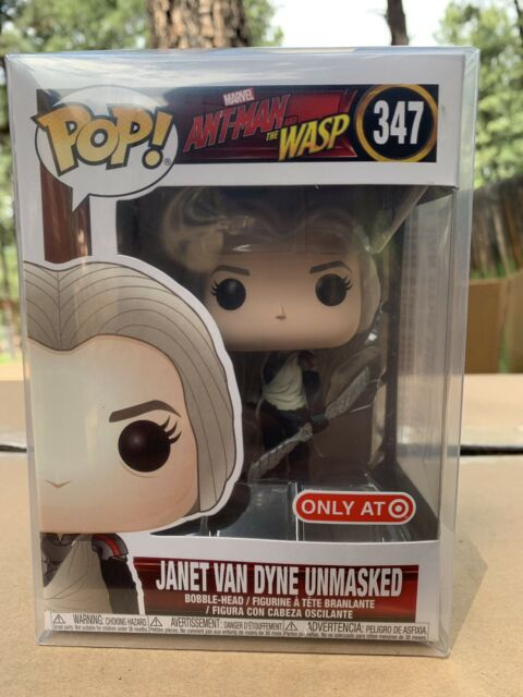 Funko Pop! Janet Van Dyne Unmasked Ant-Man & The Wasp *NEW Target Exclusive *NEW