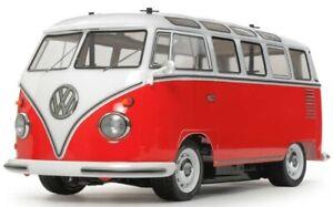 Marque De Tendance Tamiya 58668 Volkswagen Type 2 Bus M-06 Rc Kit Promo Bundle Avec Steerwheel Radio-afficher Le Titre D'origine