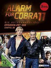 ALARM FÜR COBRA 11 - STAFFEL 38  2 DVD NEU  GOTTFRIED VOLLMER/VINZENZ KIEFER/+