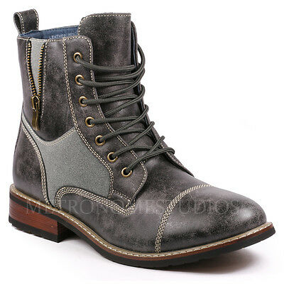 Metrocharm MC138 Mens Lace up Casual Fashion Ankle Chukka Boots