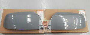 NEW OEM TOYOTA TUNDRA & SEQUOIA MIRROR COVERS 1H5 CEMENT QTY 2