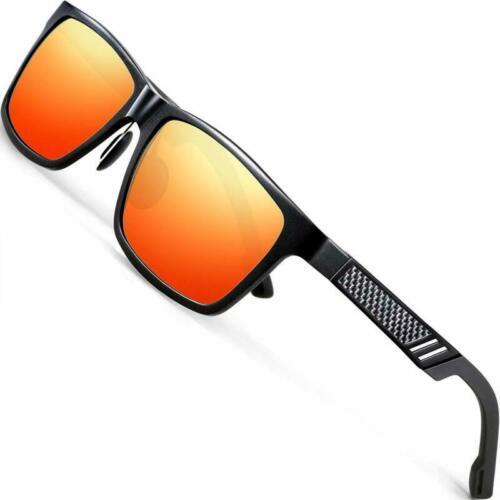 AORON Aluminium Herren Sonnenbrille Polarisiert Auto 100/% UV 400 Pilotenbrille