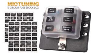 image is loading led-illuminated-automotive-blade-fuse-holder-box-6-