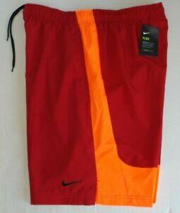 Nike Mens BIG /& TALL SOFT Workout Shorts 3XLT NEW Maroon