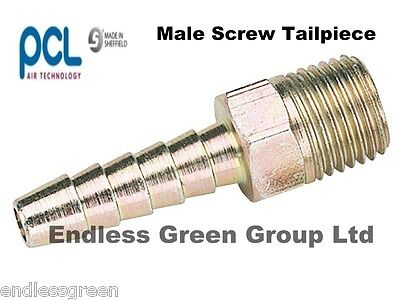 PCL Air Line Compressor fitting choice of BSP thread size MALE ADAPTOR