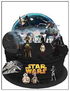 28 pieces uncut STAR WARS WAFER CARD CAKE SCENE BIRTHDAY EDIBLE DECORATION