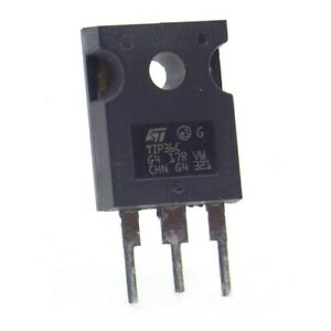 1x Transistor TIP36C - TIP36 - PNP - TO-247 - ST - 281tran089